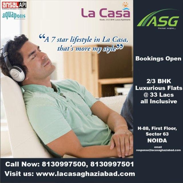ASG La Casa in Ansal API Ghaziabad NH-24